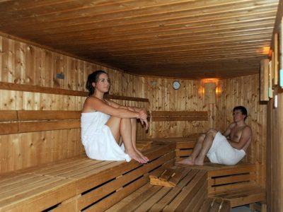 Helvetia Intergolf Appart Hôtel Crans Montana Sauna
