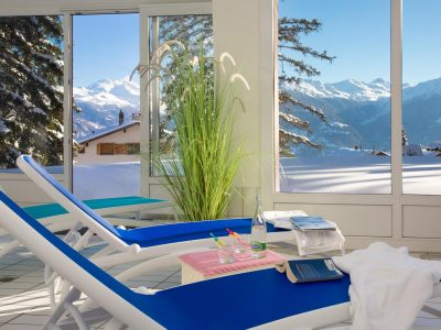 Helvetia Intergolf Appart Hôtel Crans Montana Spa
