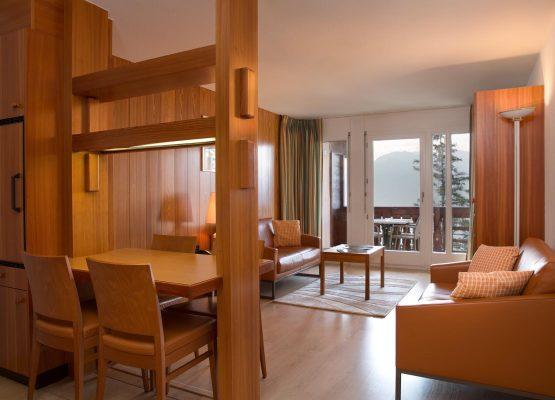 Helvetia Intergolf Appart Hôtel Crans Montana Appartement  pièces