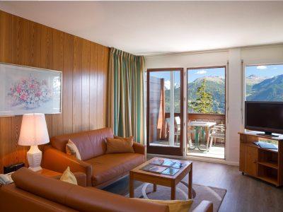 Helvetia Intergolf Appart Hôtel Crans Montana Double exécutive