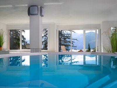 Helvetia Intergolf Appart Hôtel Crans Montana Jacuzzi