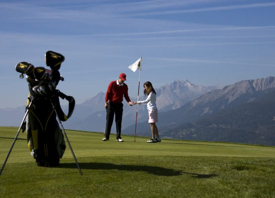 Helvetia Intergolf Appart Hôtel Crans Montana Golf